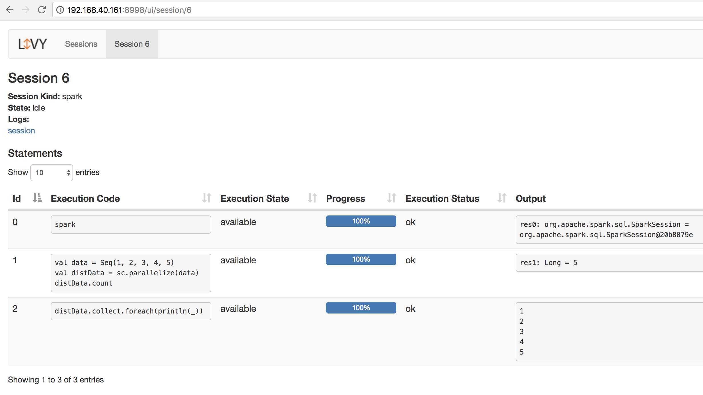 Setting up a scalable data exploration environment with