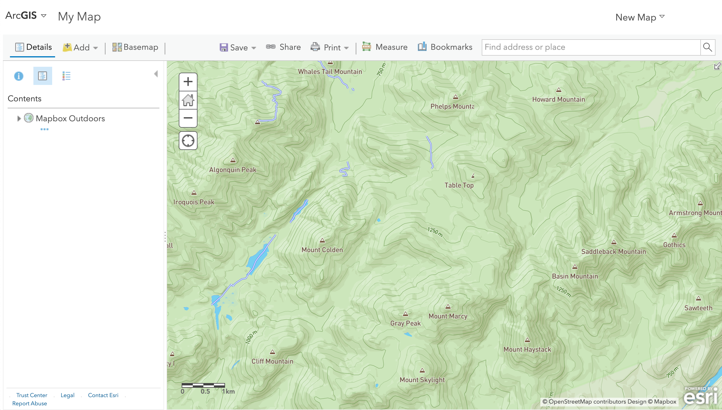 Bring Mapbox data into ArcGIS - Points of interest
