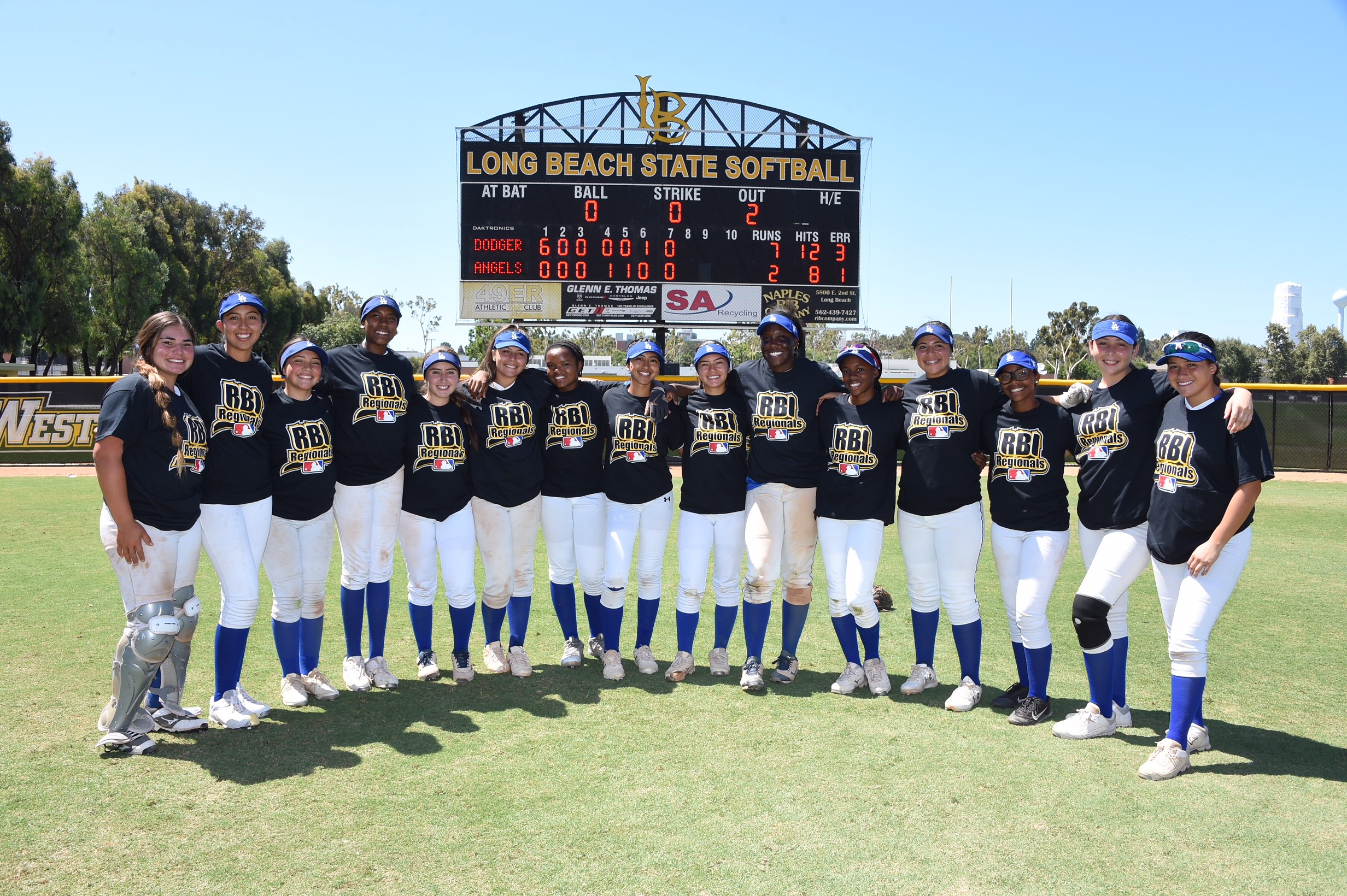 LADF: Los Angeles Dodgers Foundation Hosts MLB RBI West