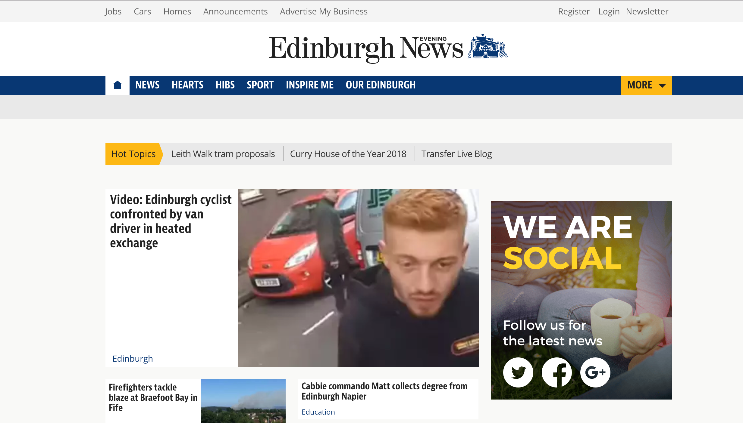 New arrivals and new roles as the Edinburgh Evening News and