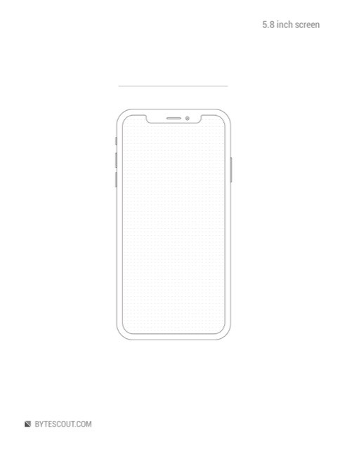 Printable Sketch Sheets For Mobile Design Wireframing And