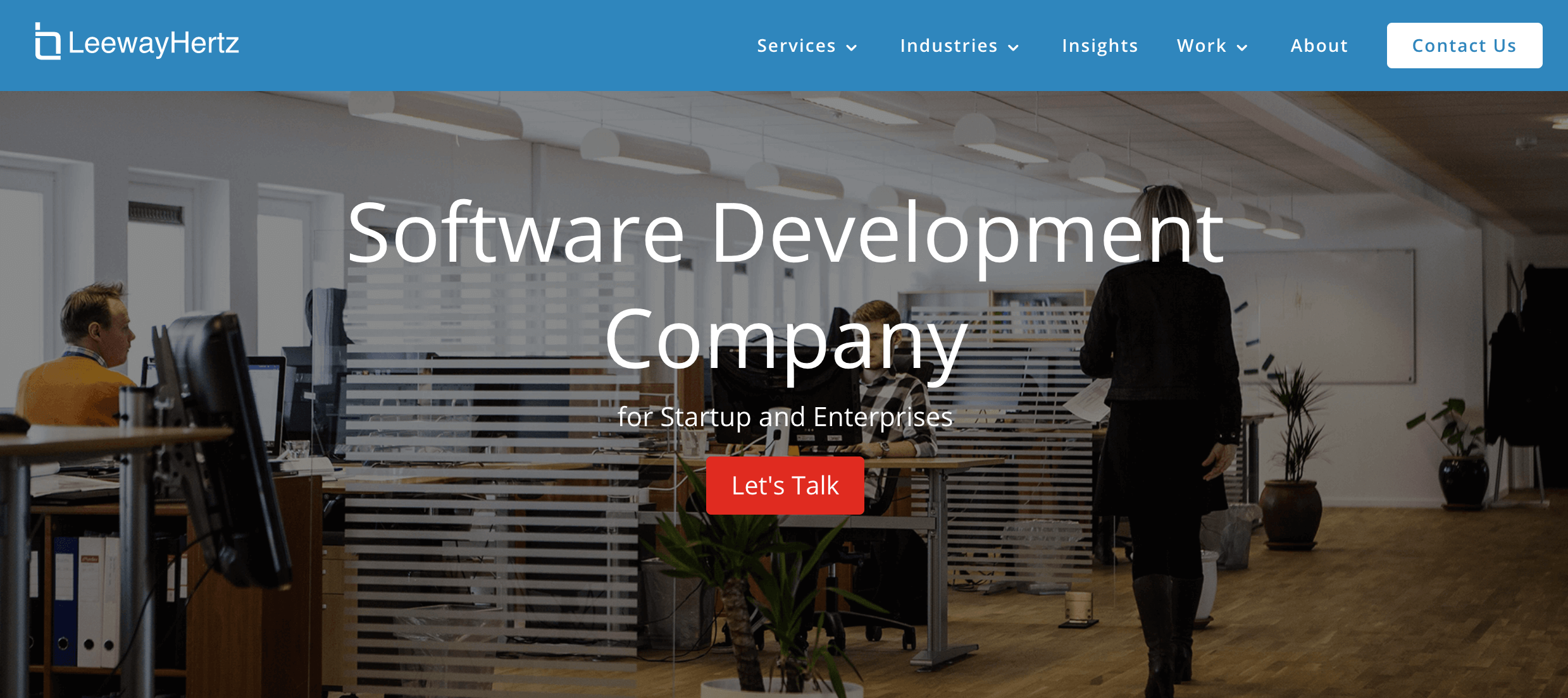 LeewayHertz — Custom Software Development Company for Startup and Enterprise