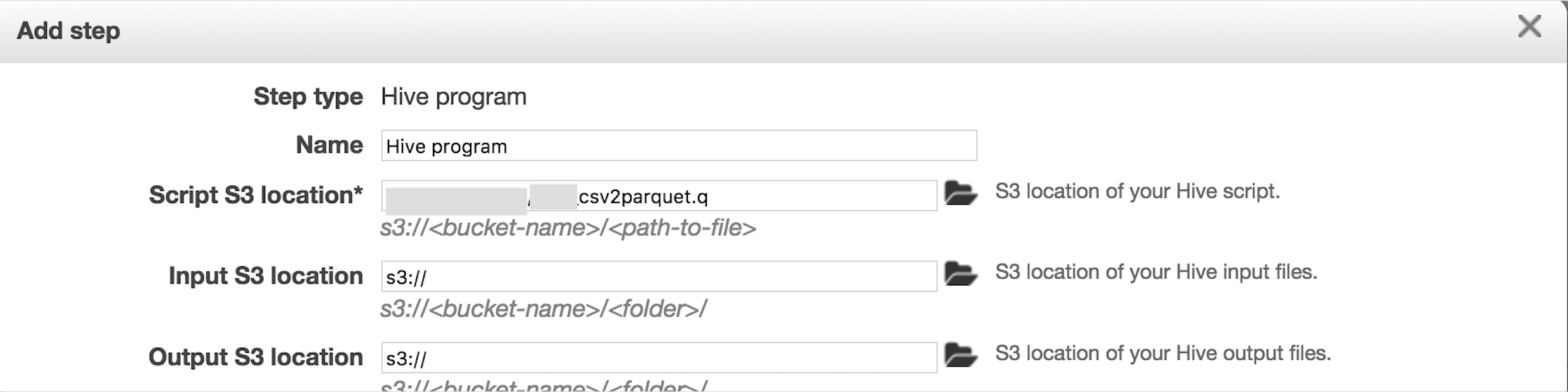 Convert CSV to Parquet using Hive on AWS EMR - Powerupcloud