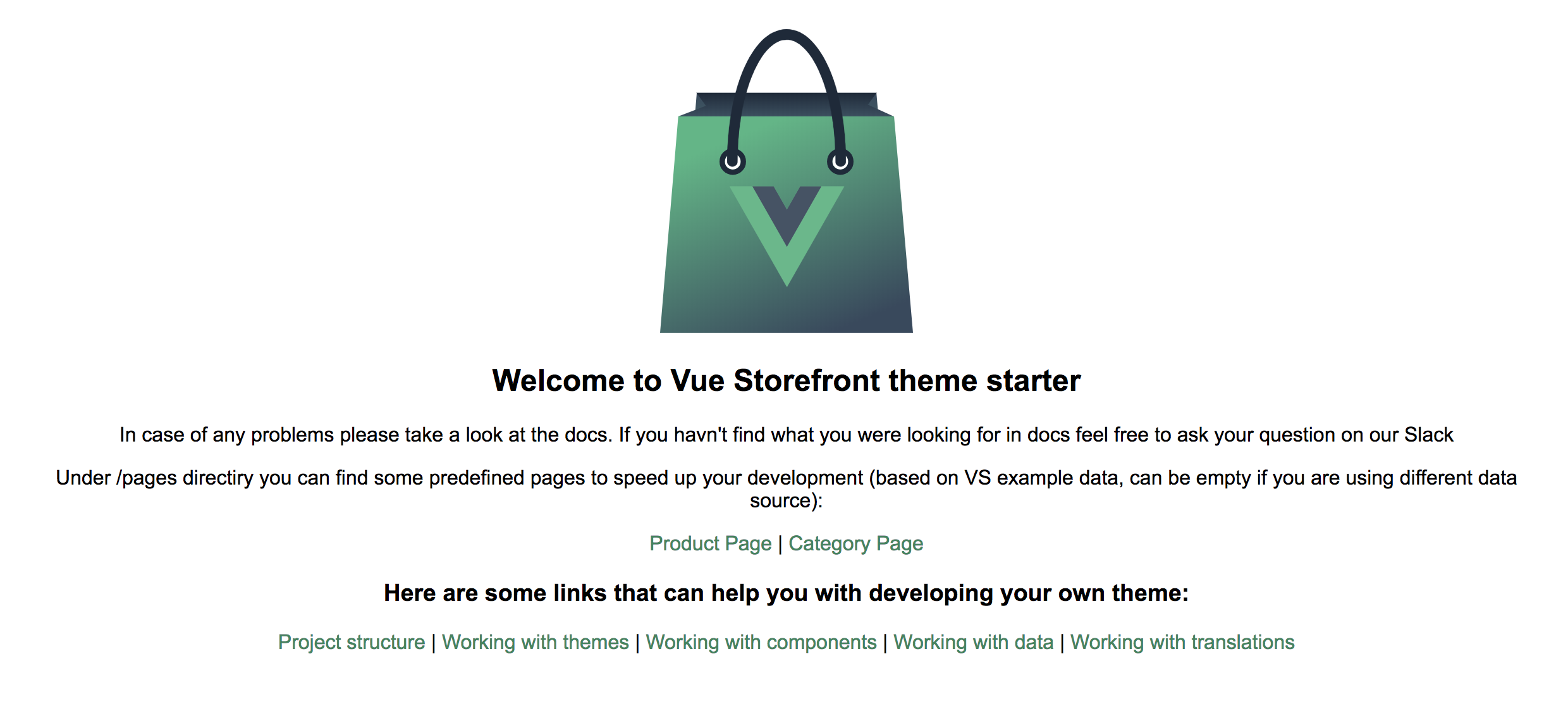 Creating themes in Vue Storefront (part 2 — Vue Storefront