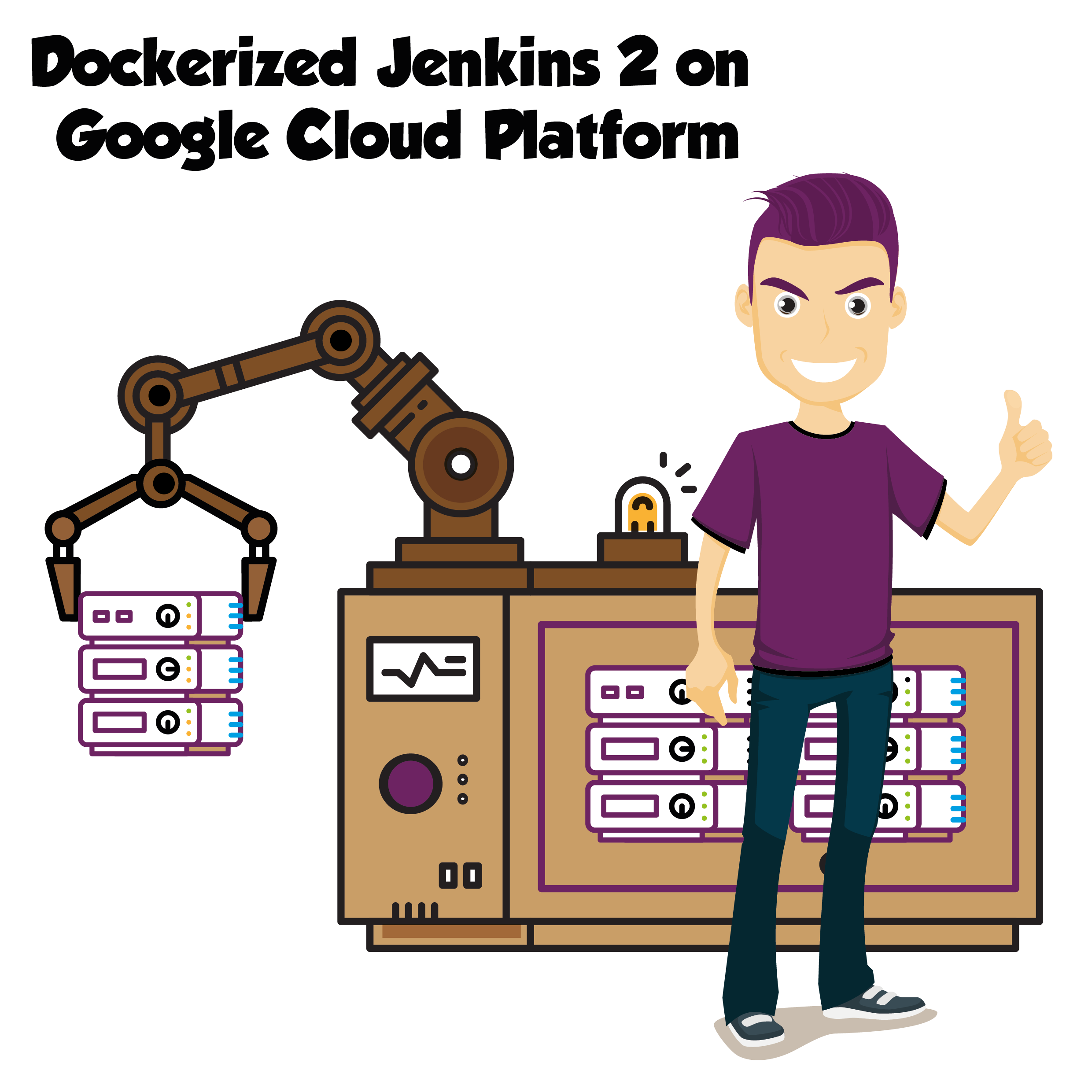 Dockerized Jenkins 2 on Google Cloud Platform - Ramblings of