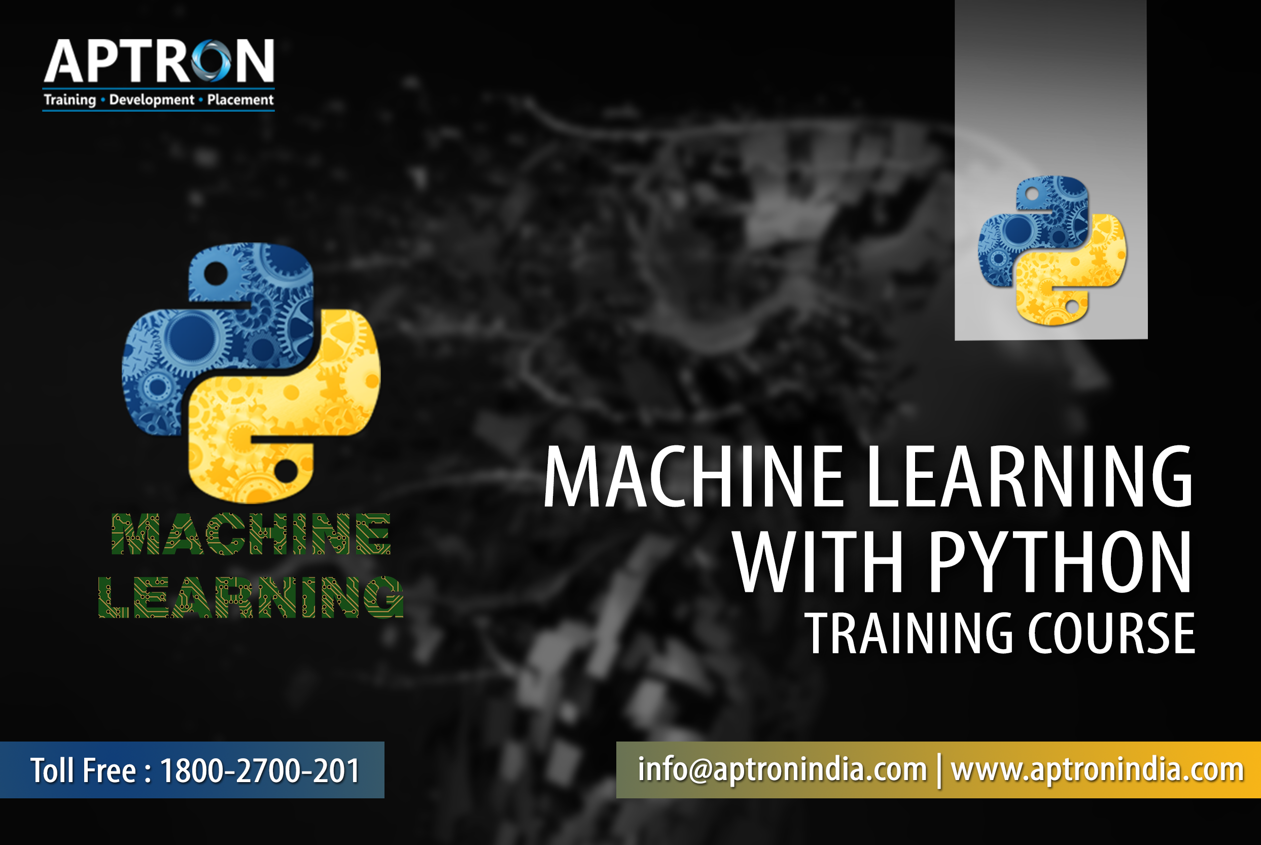 Join Best Machine Learning with Python Training in Gurgaon