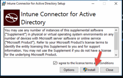 Setup the Intune Connector for Active Directory - Nathan
