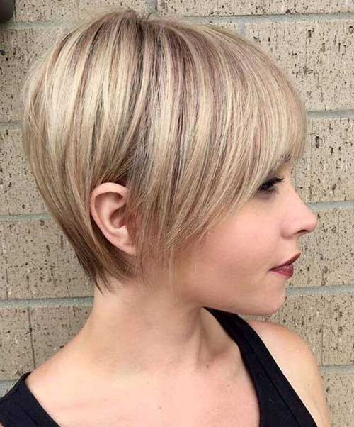 Short Hairstyles With Fine Hair 2019 By Latesthairstylepedia Com Medium