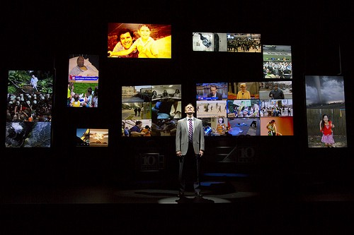 Geffen Playhouse alumnus David Wilson Barnes as Charlie Duff in the Huntington Theatre Company's production of Stephen Belber's The Power of Duff.  Photo T.Charles Erickson
