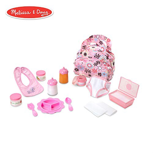 Melissa Doug Mine To Love Doll Feeding And Changing