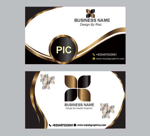Free Vector Art Design Business Card Vector Design Free