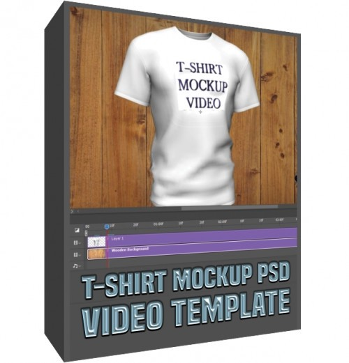 3D T-SHIRT MOCKUP VIDEO PHOTOSHOP CC TEMPLATE | by zahid | Feb, 2021 | Medium
