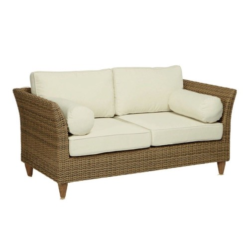 Synthetic Rattan Sofa With Cushion