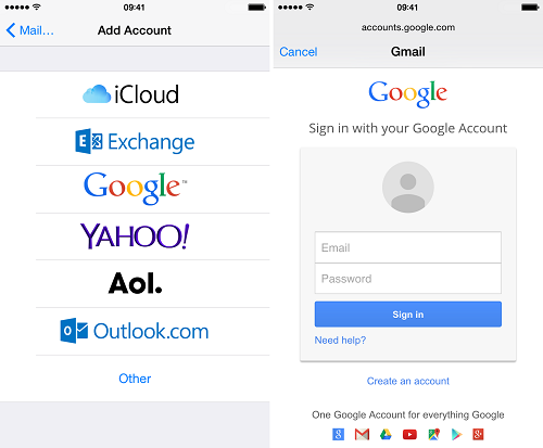 How to Add your Google Account to your iPhone   by Ellen Cooper   Medium