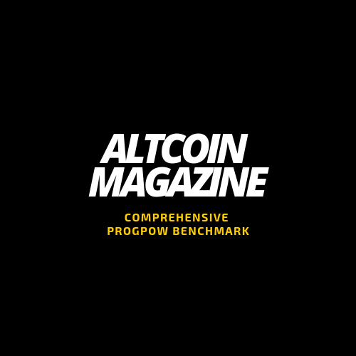 Comprehensive ProgPoW Benchmark - ALTCOIN MAGAZINE - Medium
