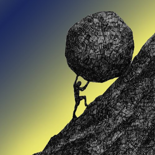 The Myth of Sisyphus. An Allegory About the Human Condition…   by Blake  Lazur   Medium