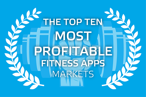 The Top Ten Most Profitable Fitness Apps Markets - Traffic