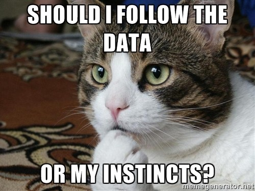 Without theory, data science is just about cat memes