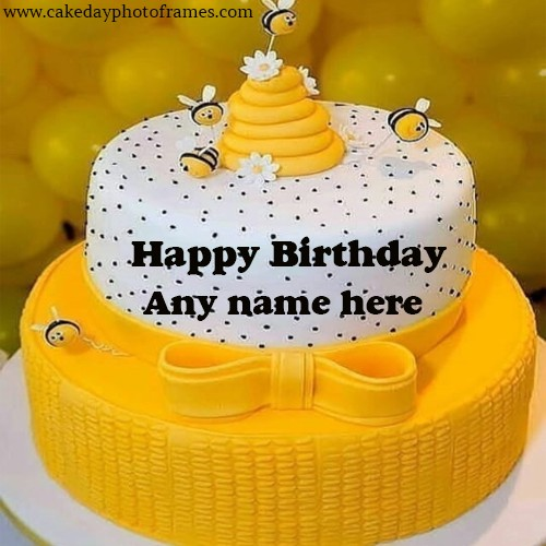 Remarkable Happy Birthday Cake With Name Free Download Cakedayphotoframes Funny Birthday Cards Online Elaedamsfinfo