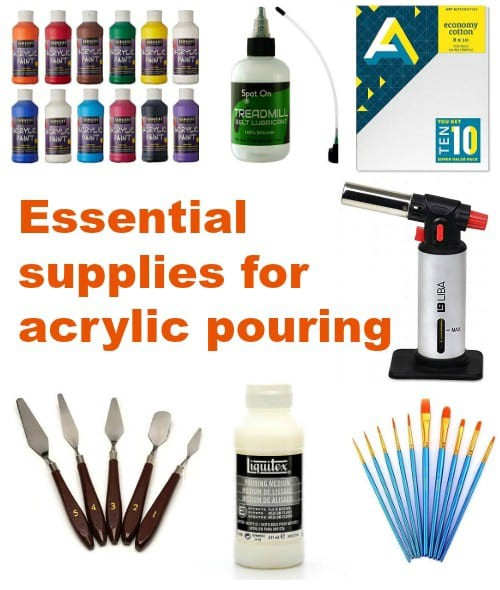 Acrylic Painting Supplies Needed forPouring
