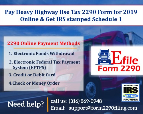 2290 form pay online  What are the ways to Pay 10 Online? - EfileForm 10 - Medium