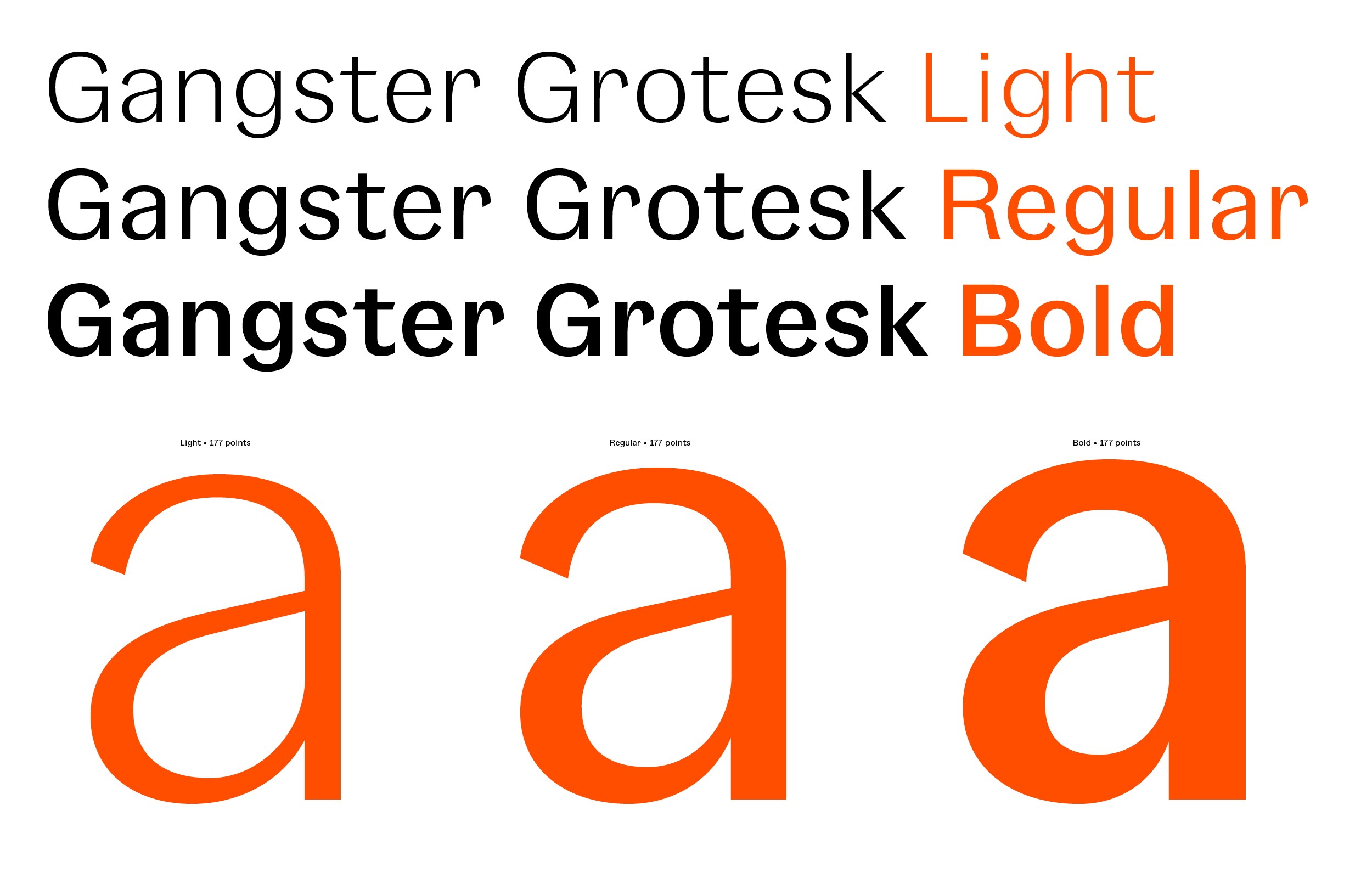 Gangster Grotesk — Free Fonts - Fresh Fonts - Medium