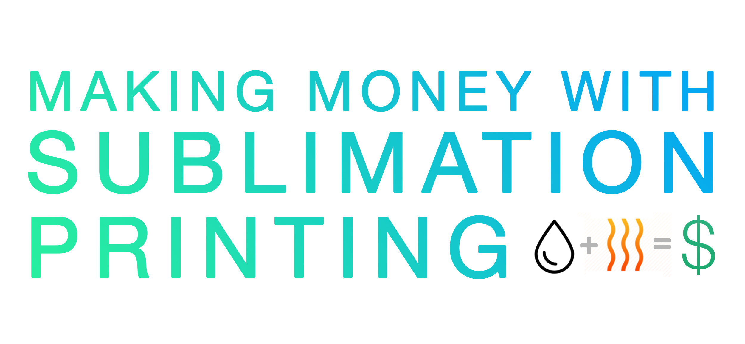 Making Money With Sublimation Printing By Mike Mcbrien Medium