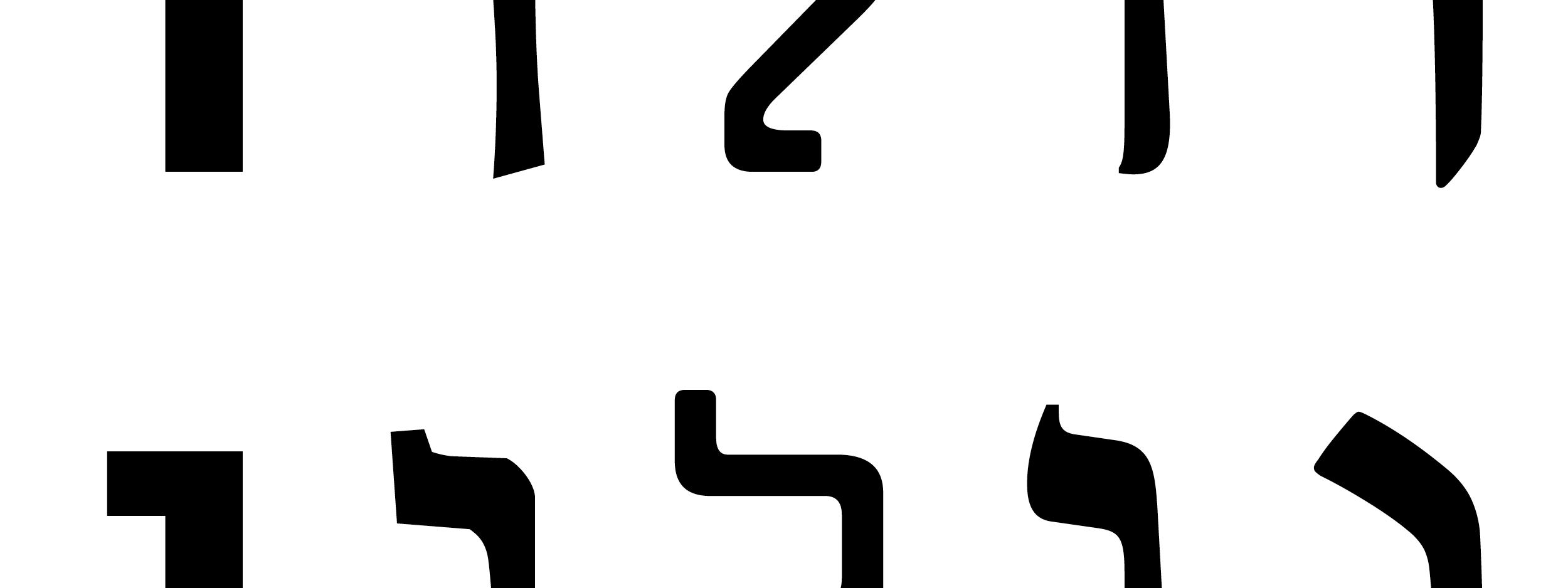 """What is a """"serif"""" in Hebrew? - Noteworthy - The Journal Blog"""