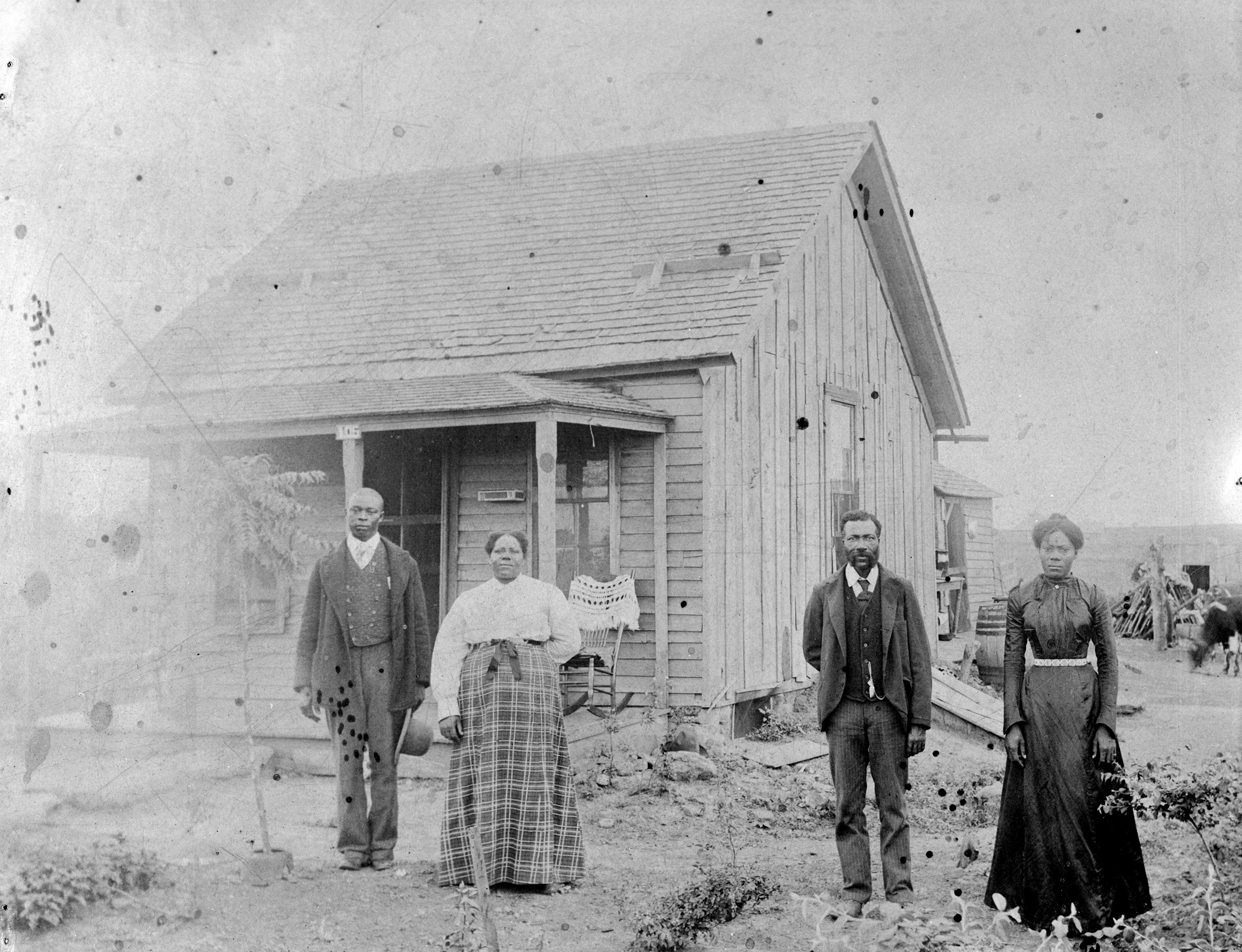 One man's dream of an all-black settlement came alive in