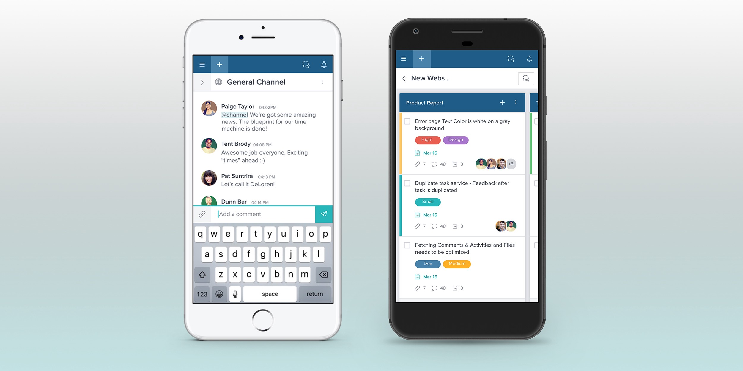 New Taskworld mobile app has chat, visual boards and a lot