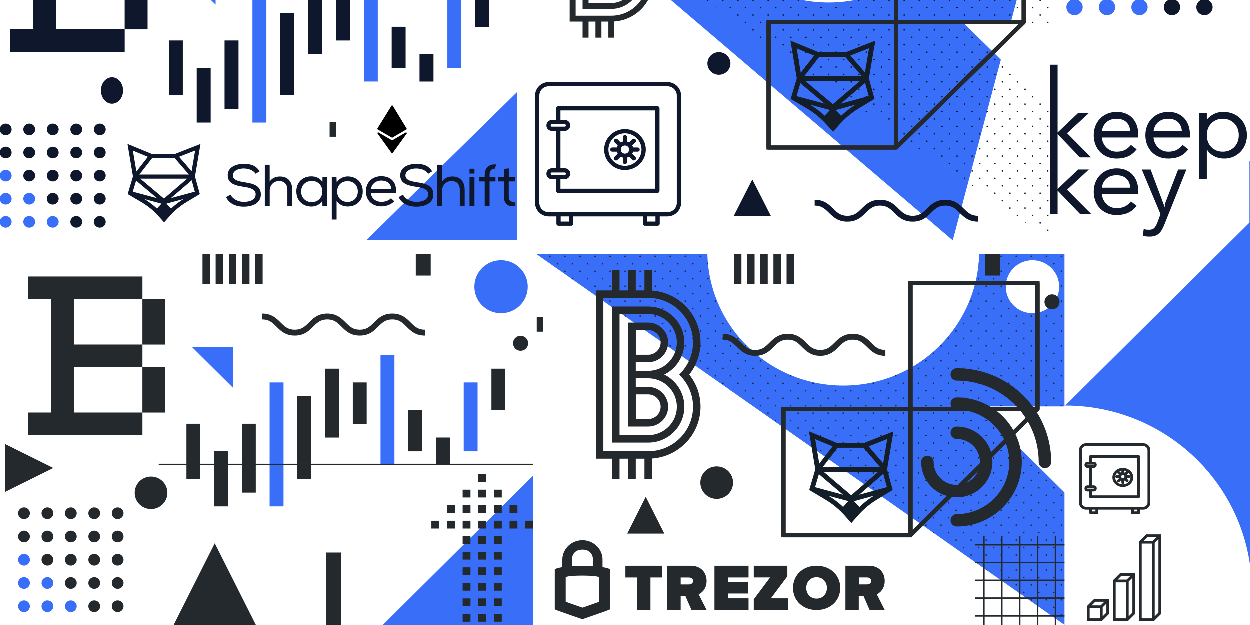 The new ShapeShift was built around the idea of evolving the hardware wallet experience—Compatible with KeepKey & Trezor.