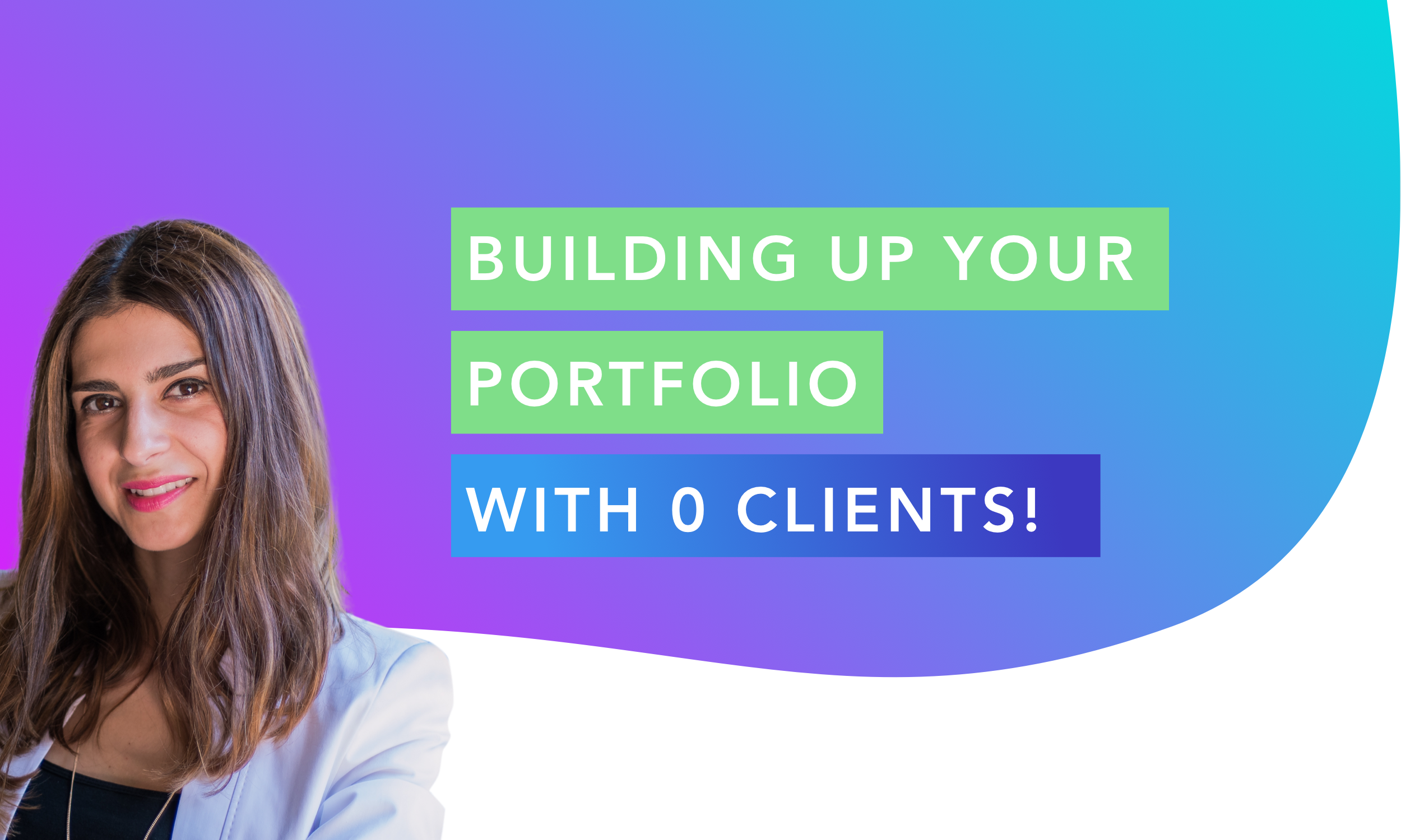 How to create your first UX/UI design portfolio with 0 clients