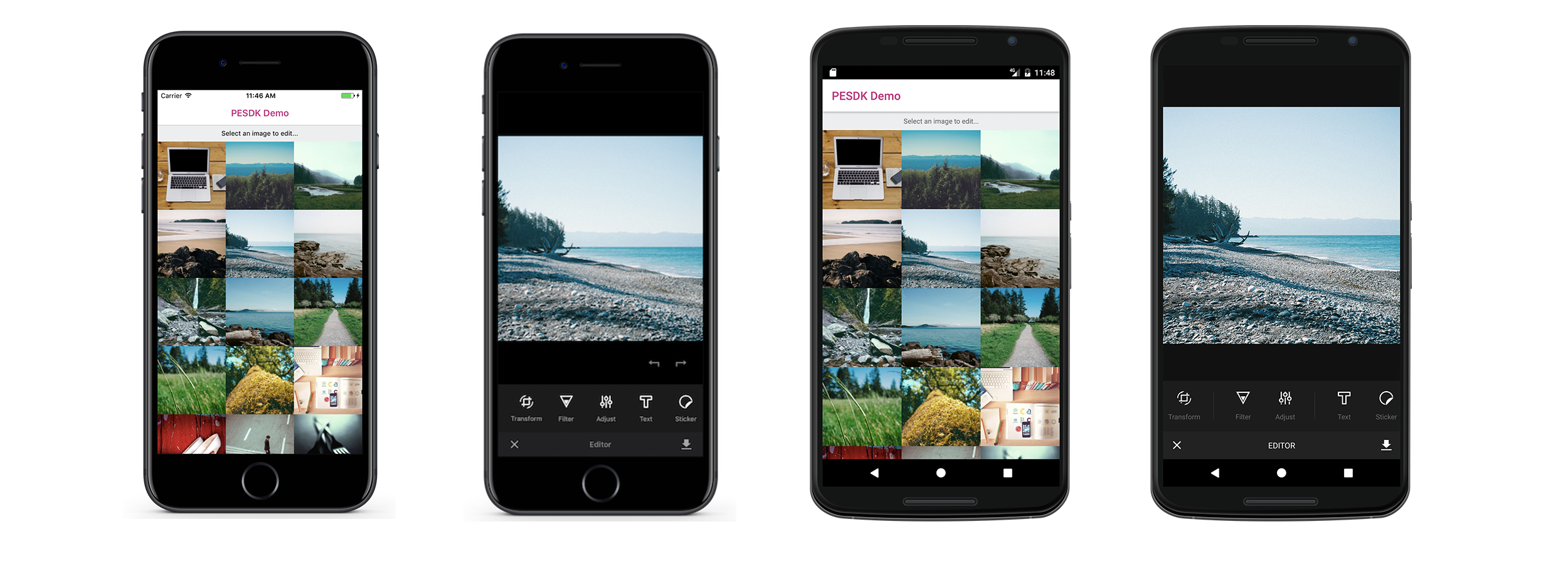PhotoEditor SDK + React Native - img ly
