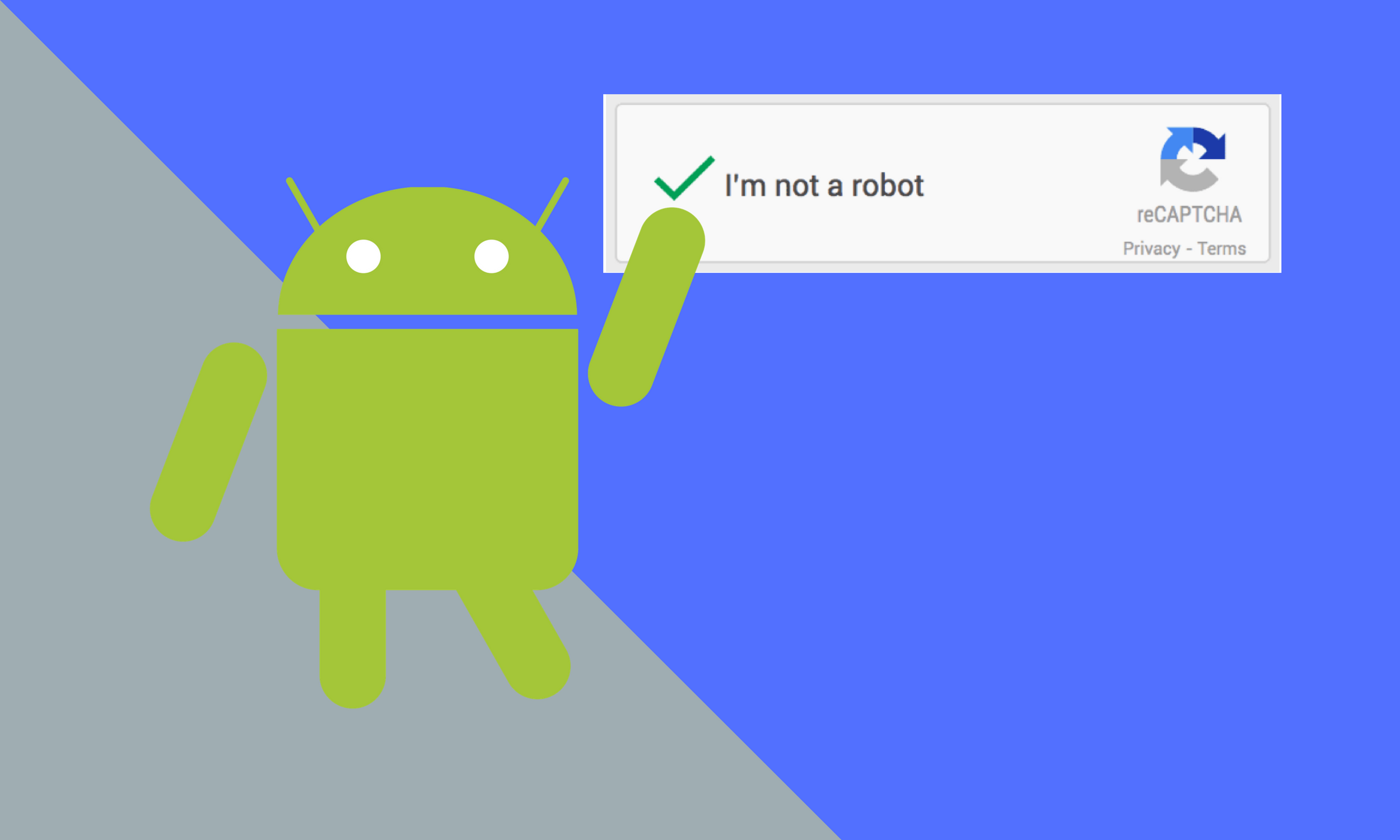 Using Google's ReCAPTCHA with Android - AndroidPub