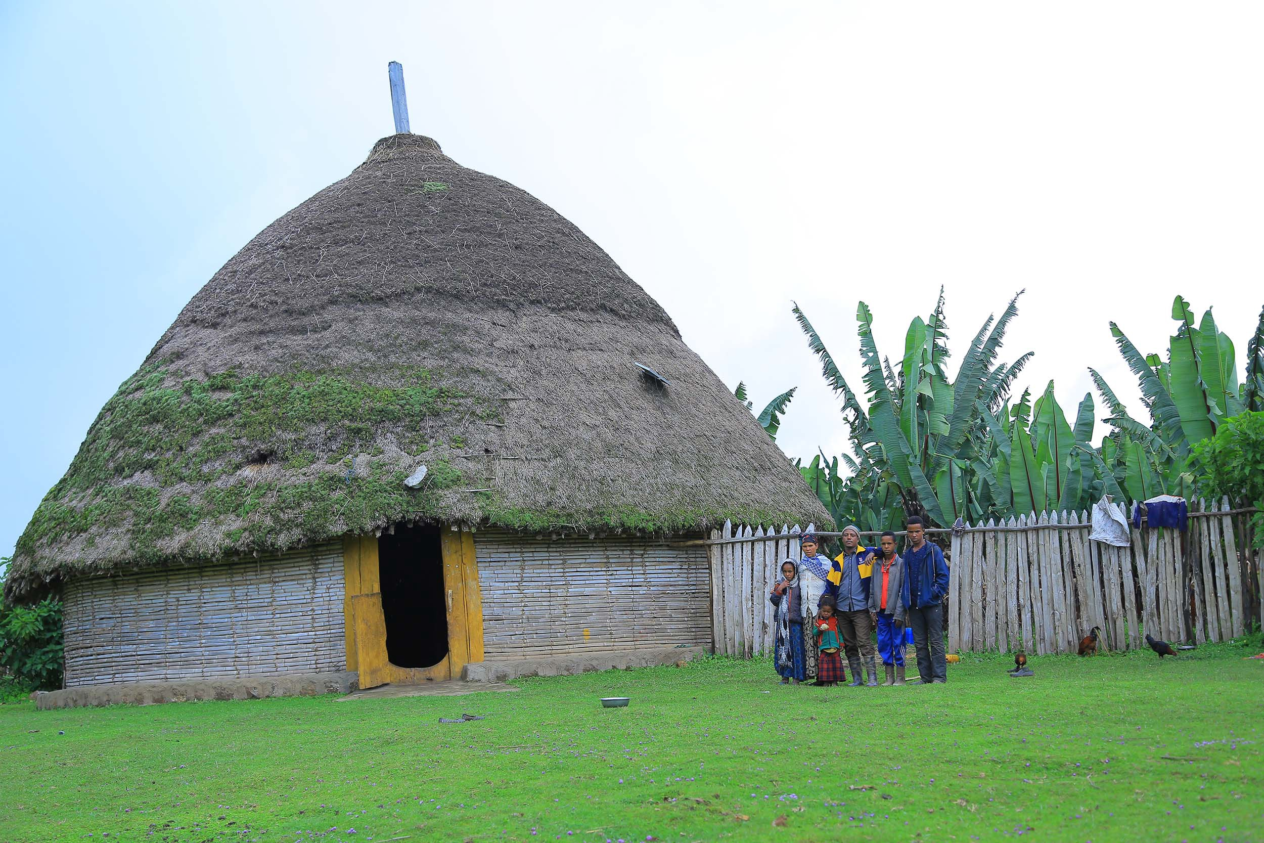 Nega is providing a solar home system for his children to encourage them in their education.