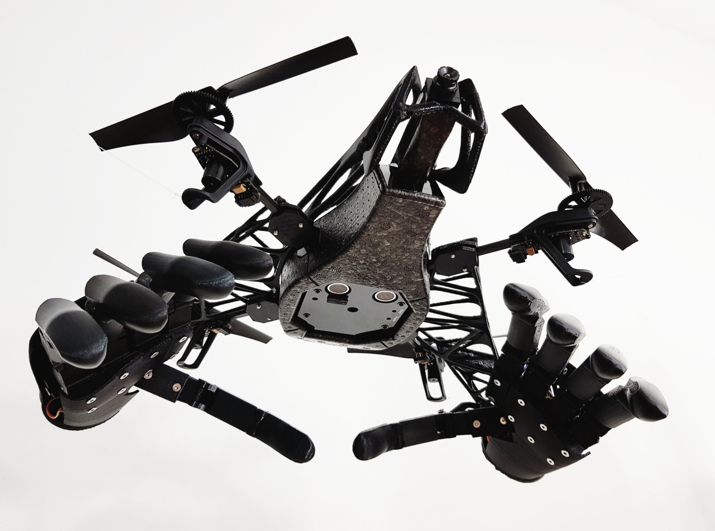 Give Your Drone a Pair of Robotic Hands with This Free Design