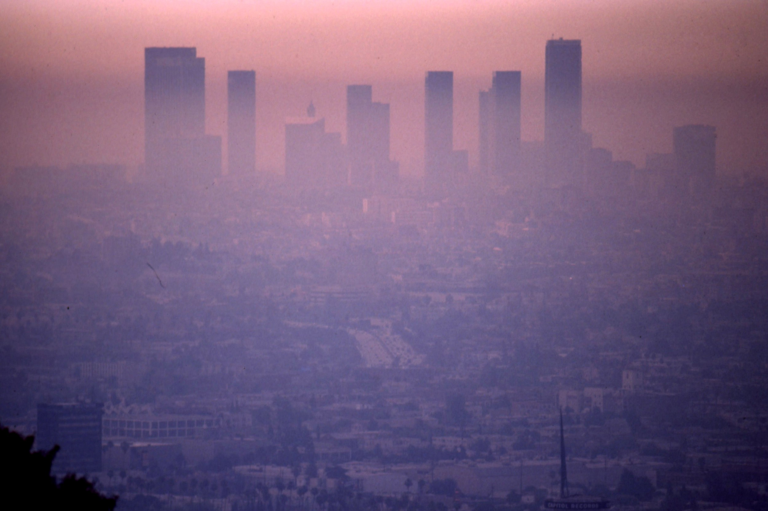Smog Check History >> Photos L A S Mid Century Smog Was So Bad People Thought