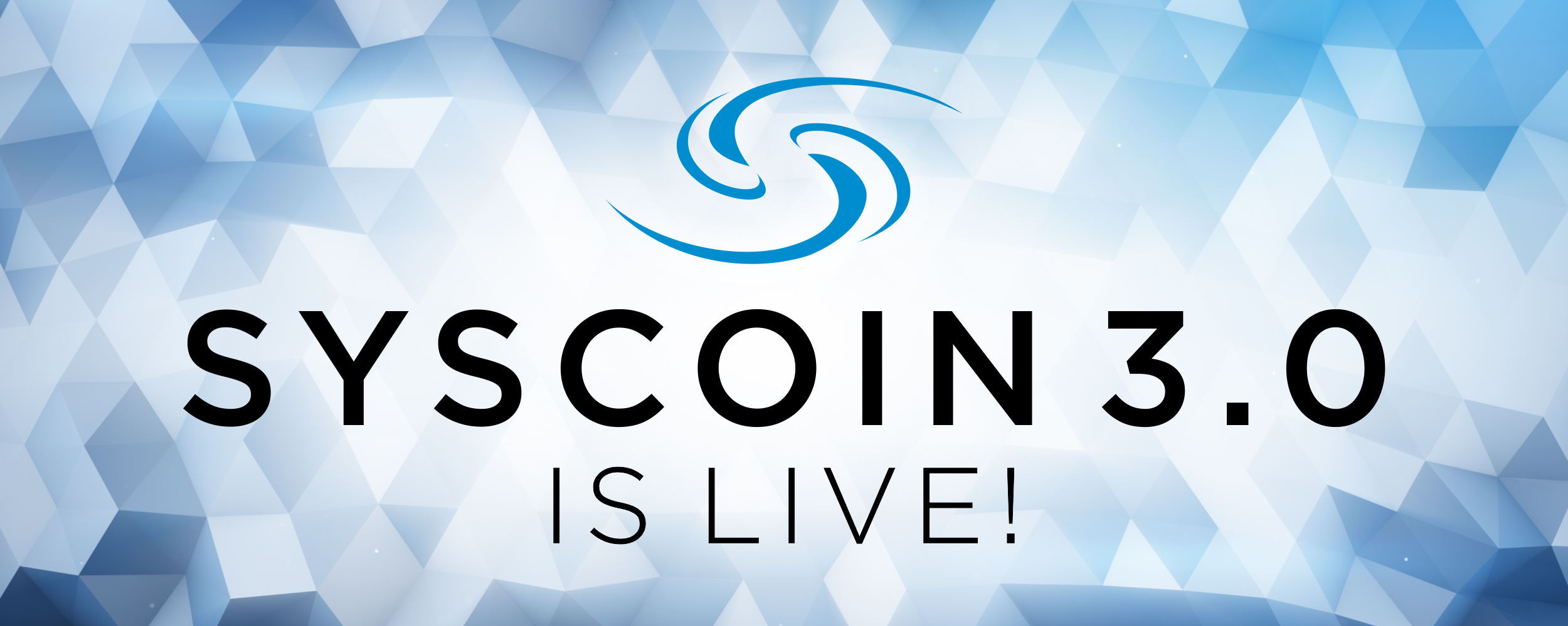 Syscoin 3 0 Is Live