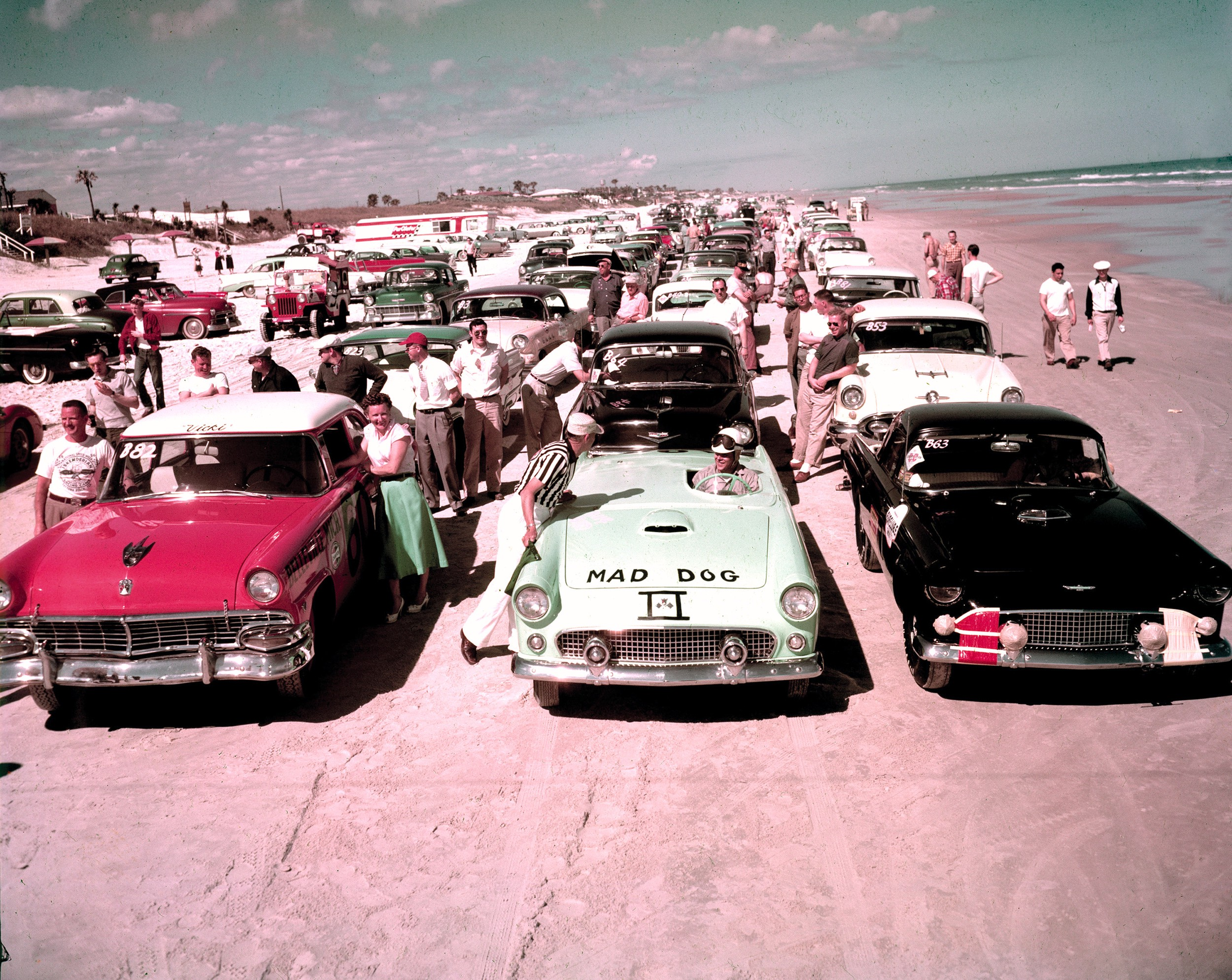 Daytona Dog Track >> Photos The First Nascar Races Were Literally On Daytona Beach
