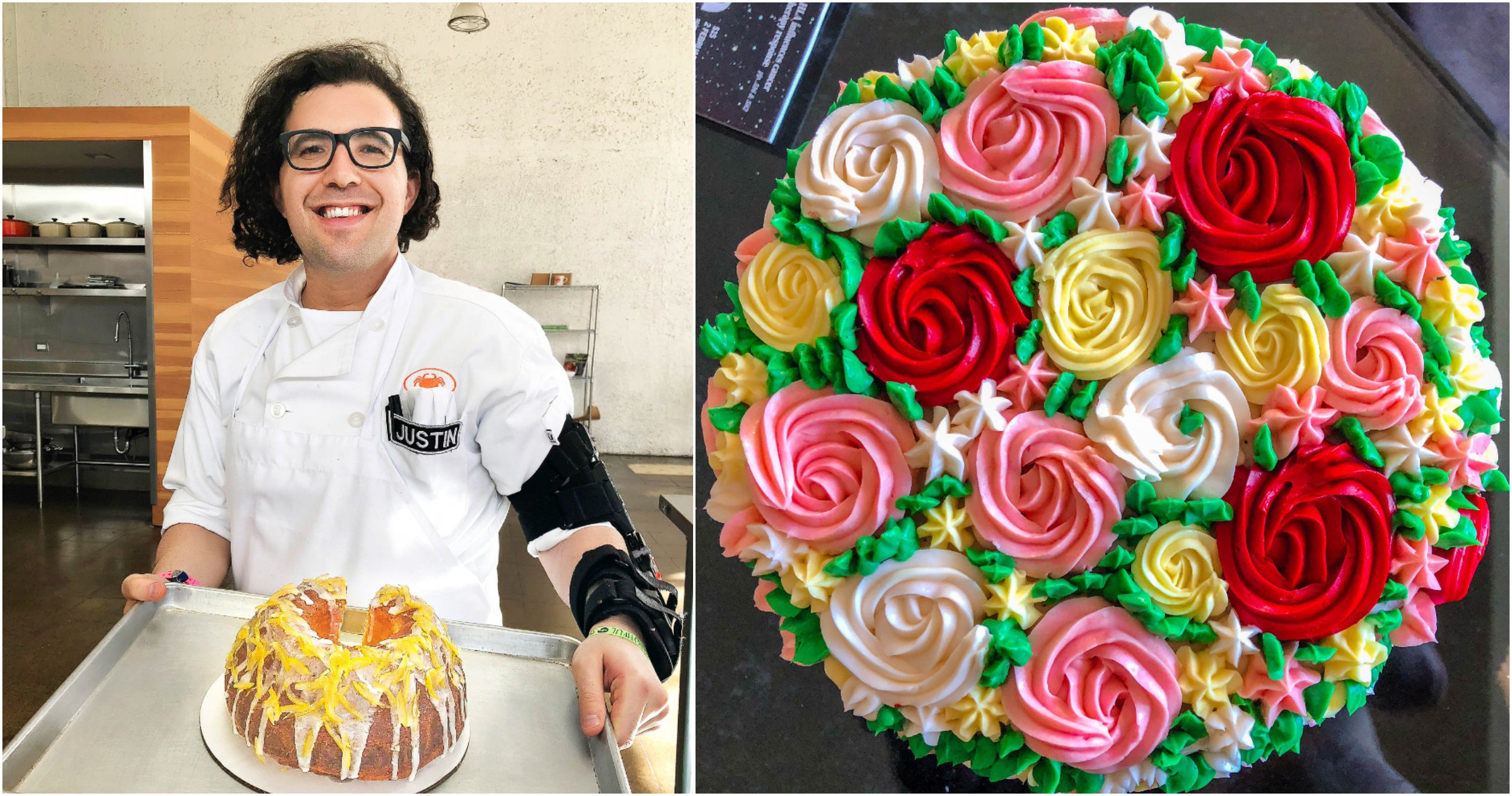 Pastry Chef School Cake Decorating And Coffee Cakes
