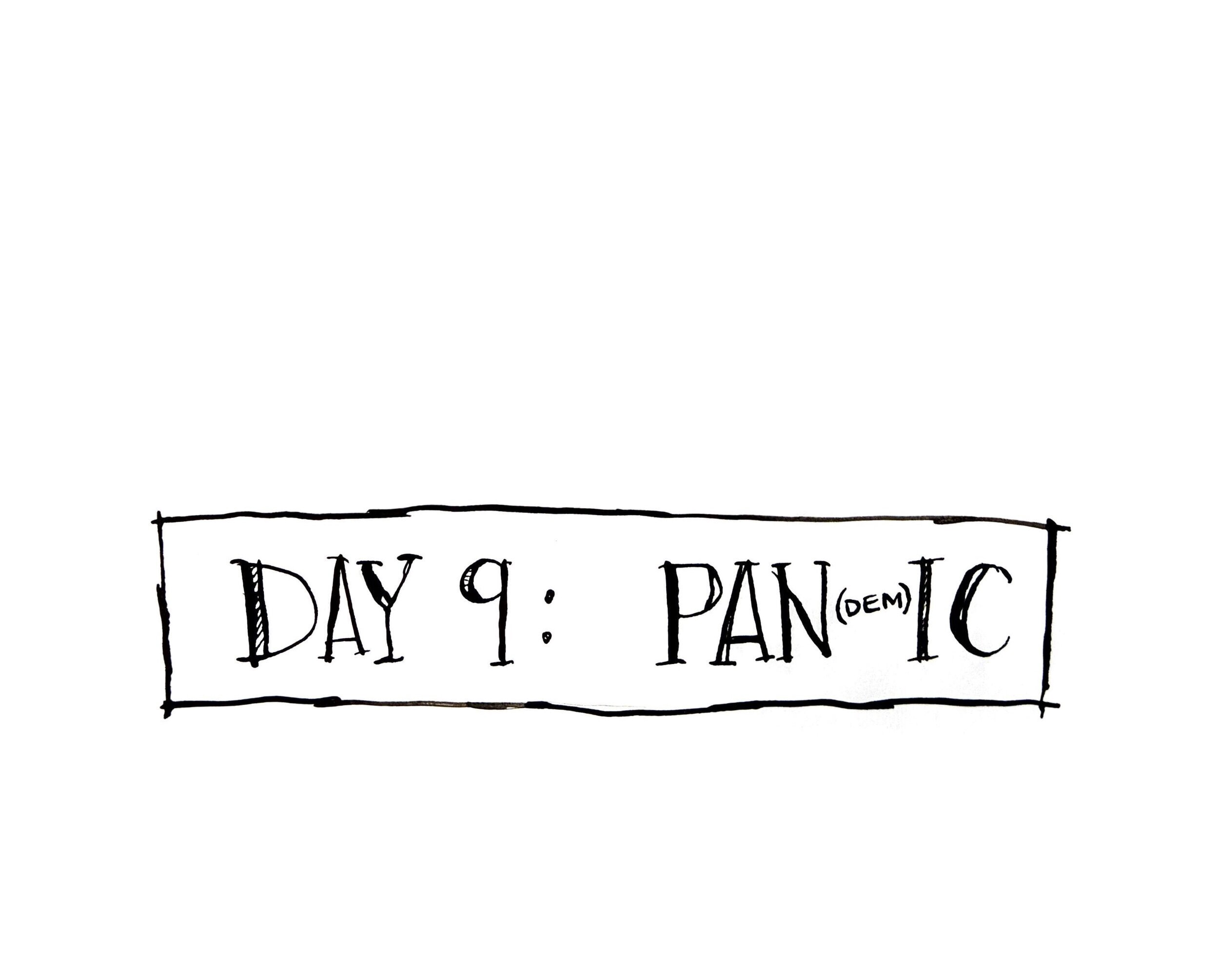 Day 9: Pan(dem)ic