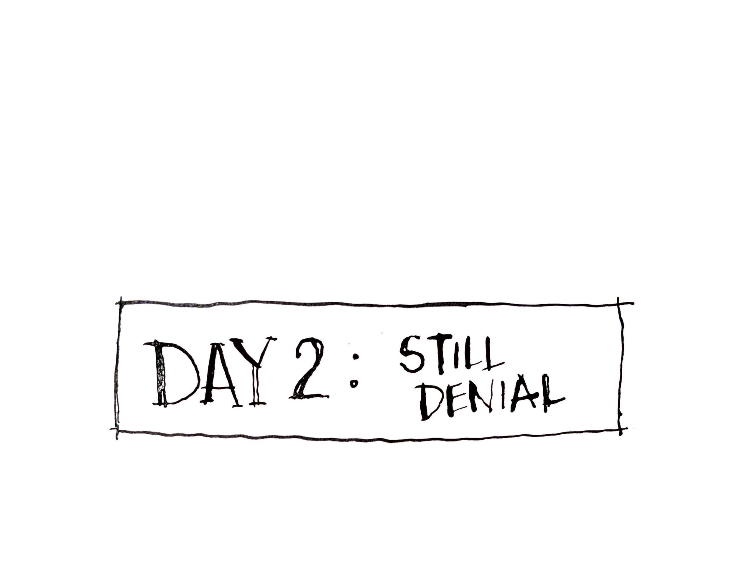 DAY 2: Still Denial