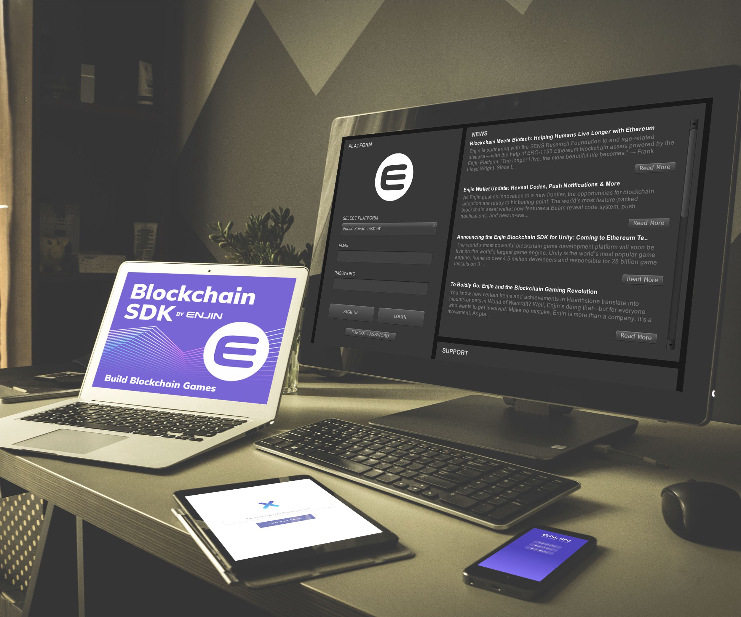 The Blockchain SDK by Enjin is Live on the Unity Asset Store