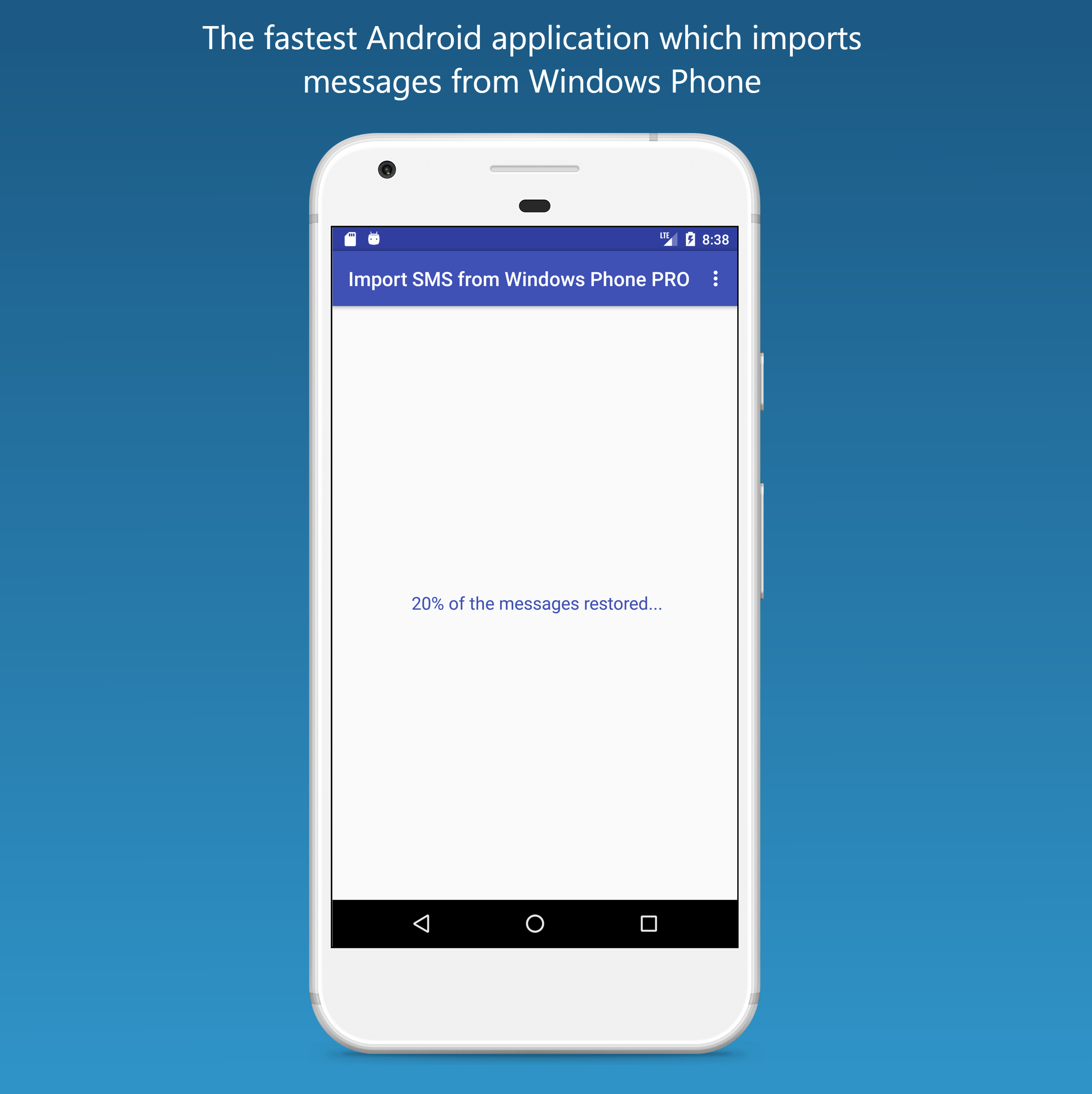 Import SMS, MMS & Group messages from Windows Phone to Android