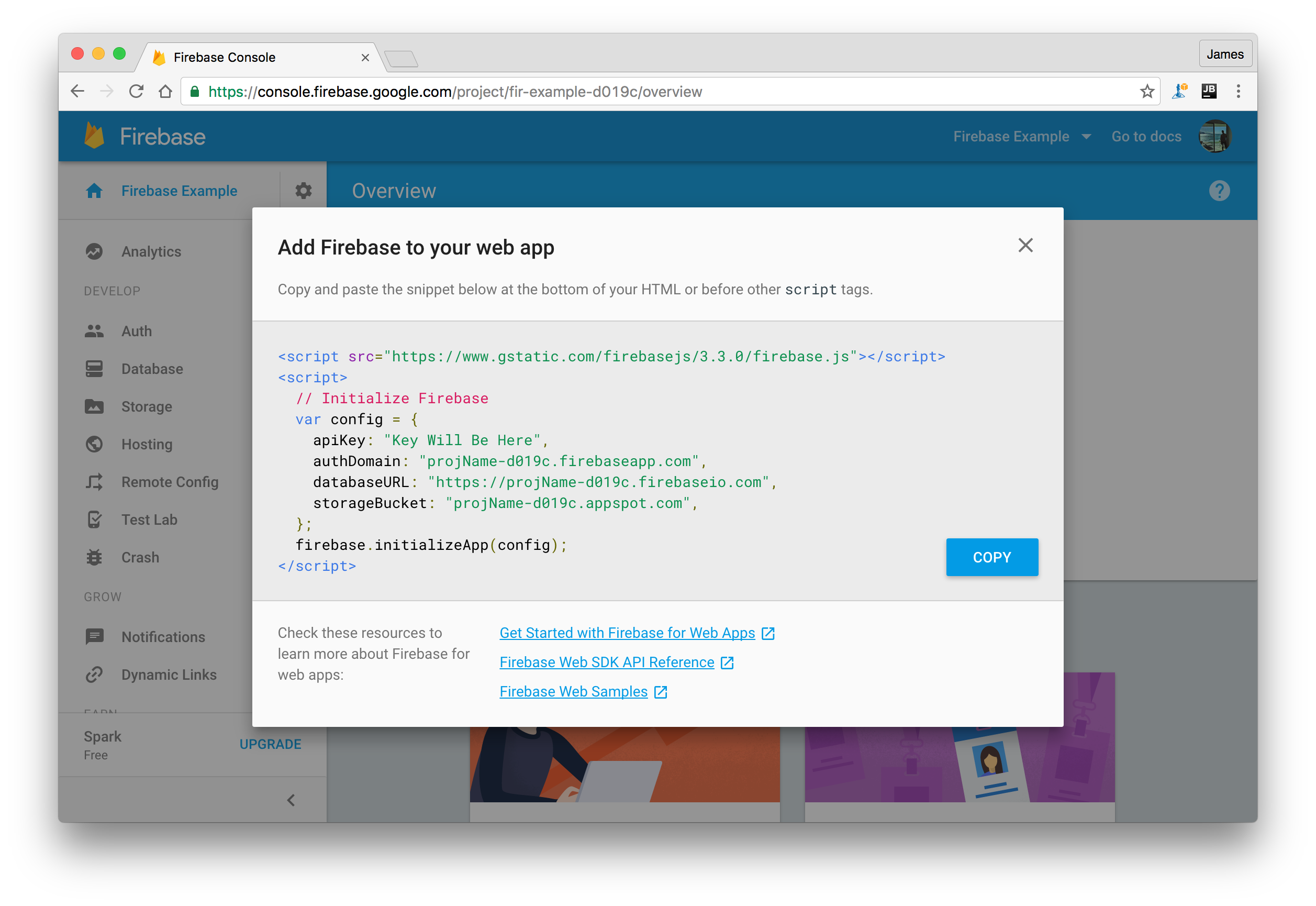 Getting started with React Native and Firebase - James