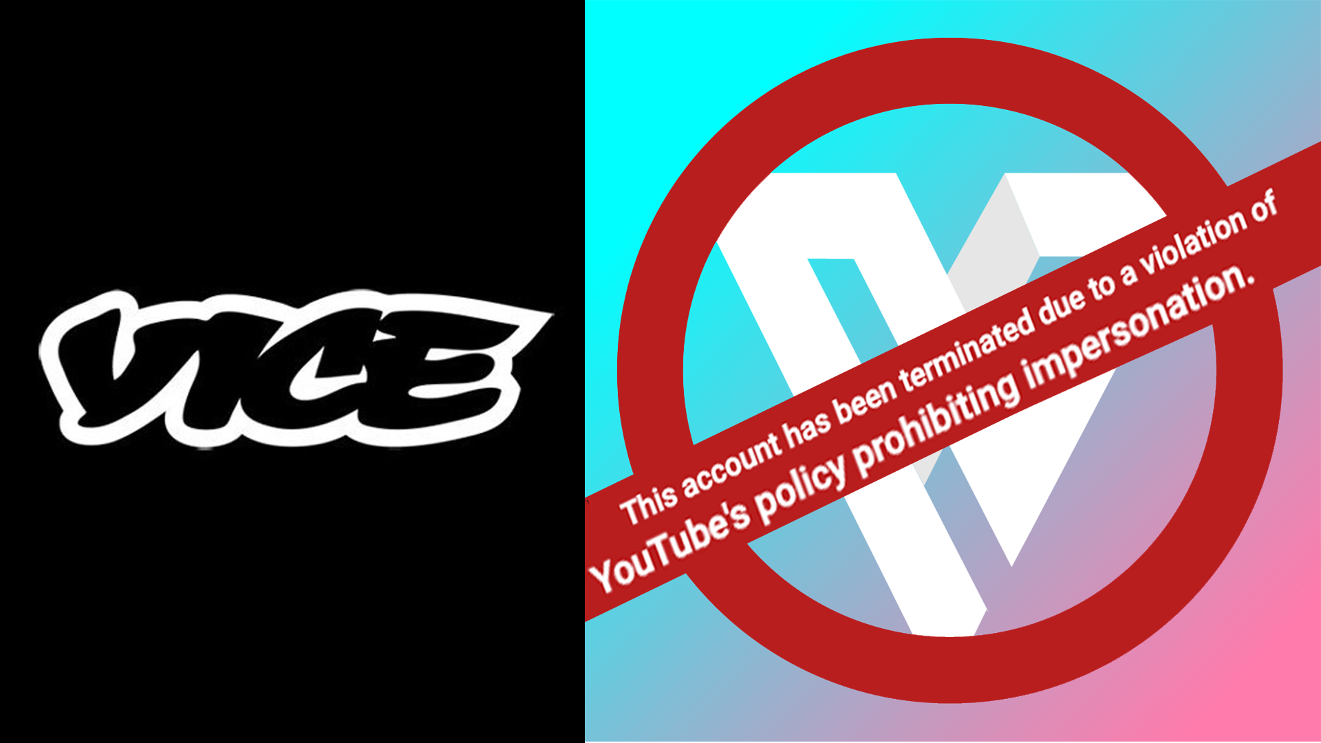 VICE Media Had YouTube Shut Down My Gaming Channel Without