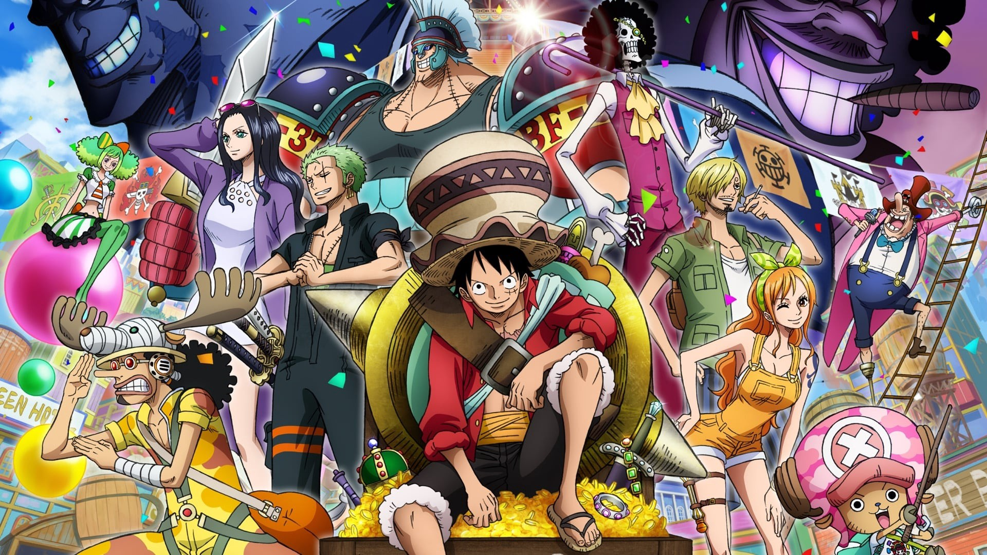 Assistir Filme One Piece Stampede 720p Portugues