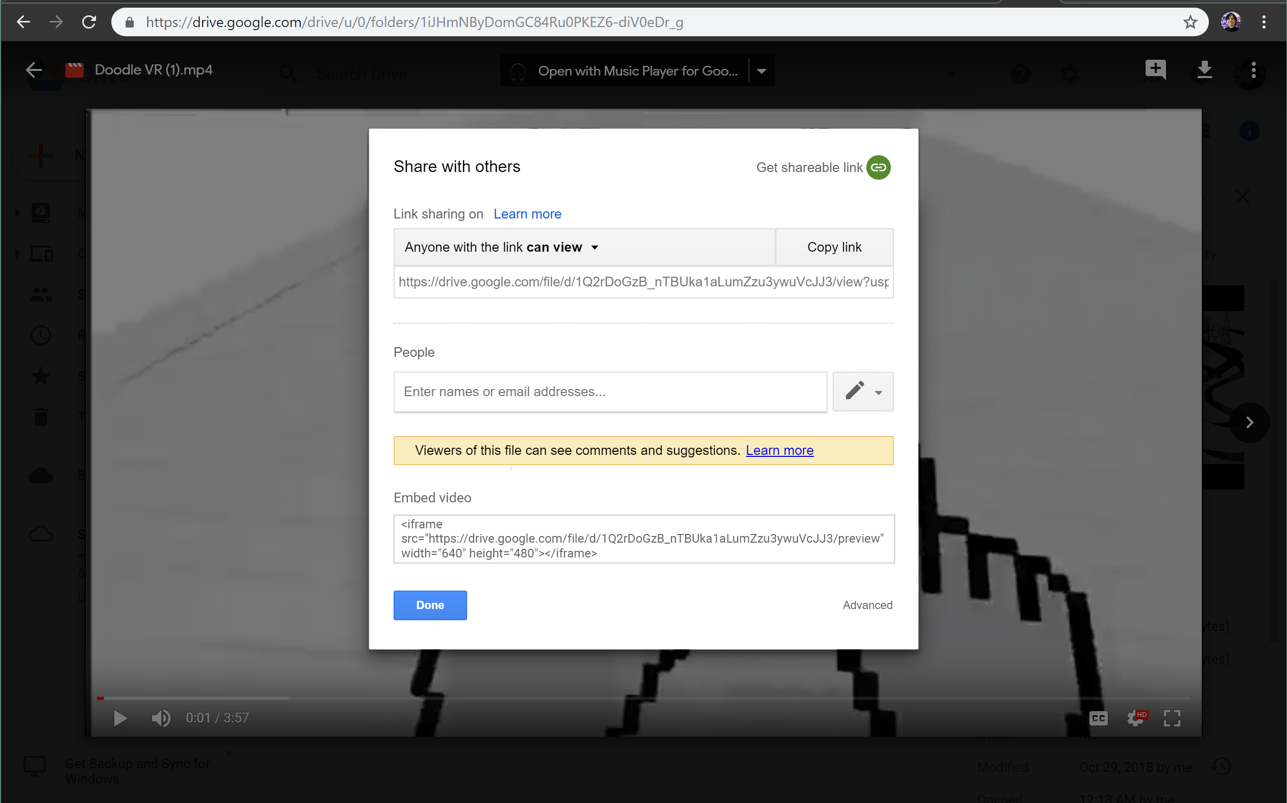 Mini Case Study: A Quest to Find The Hidden Embed Video Link