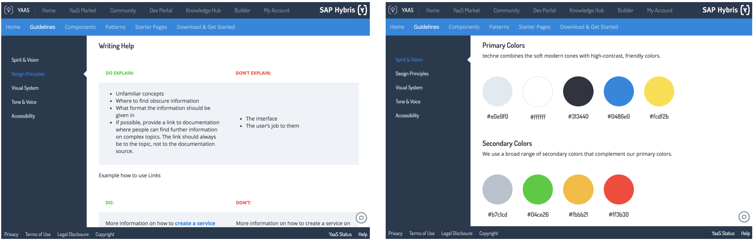 Sap Hybris Techne User Interface Design Guidelines And By Jens Rusitschka Medium