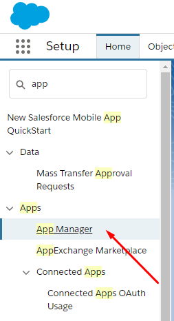 select App Manager from search results